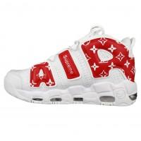 Nike Air More Uptempo x Supreme White Red