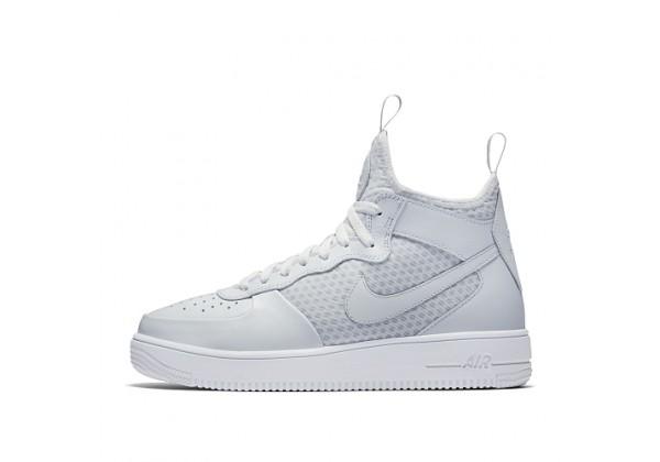 Кроссовки Nike Air Force 1 Ultraforce Mid белые