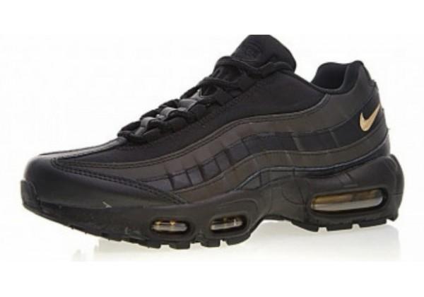 Кроссовки Nike Air Max 95 Gold Black